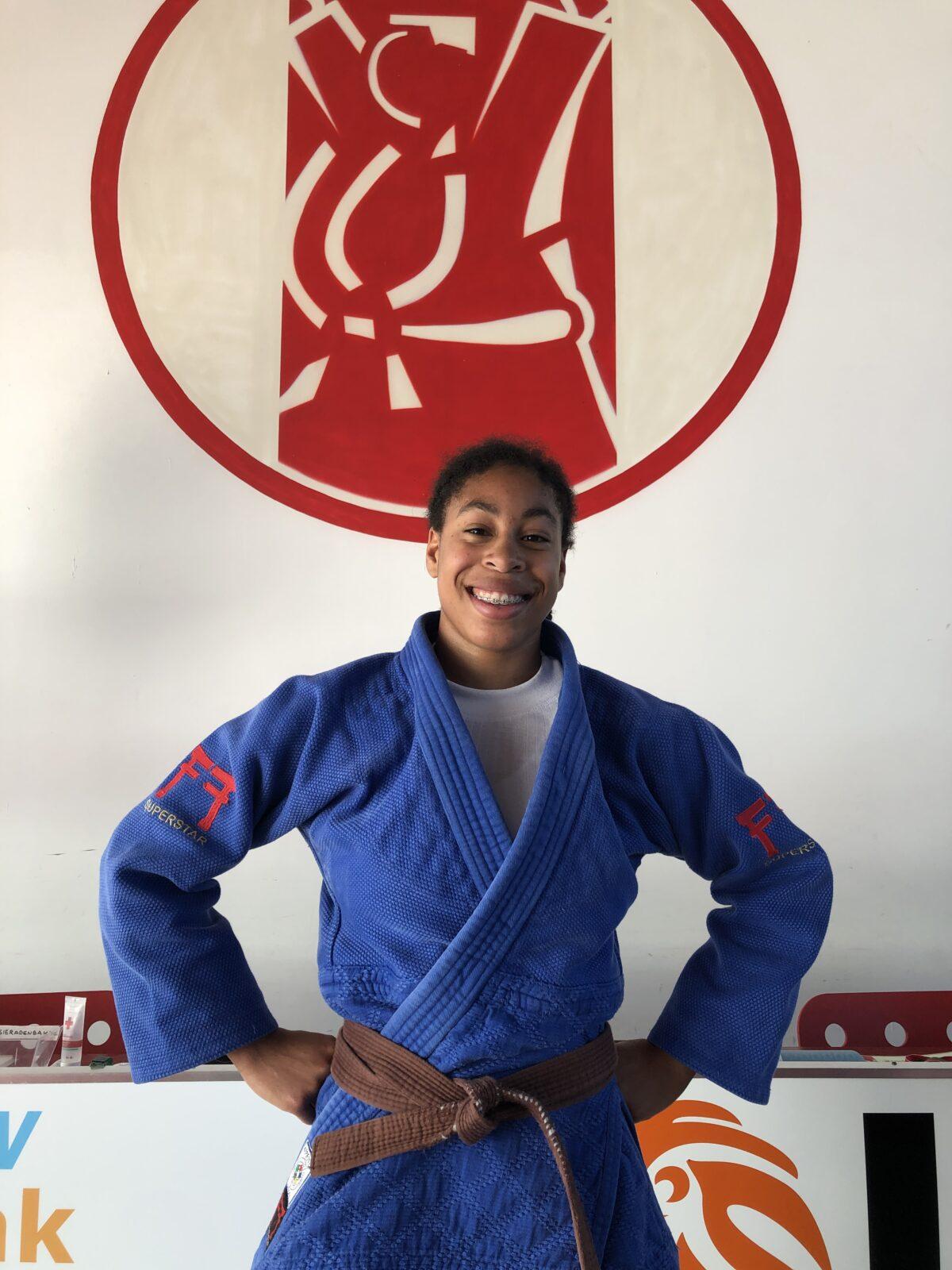 Maira Medema - Judo Yushi - geplaatst voor Europacup